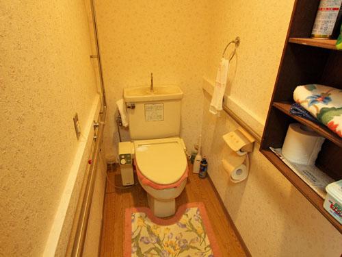 手すり付きトイレ