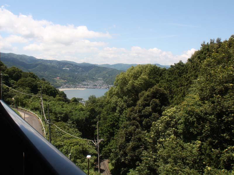 バルコニーから左側眺望