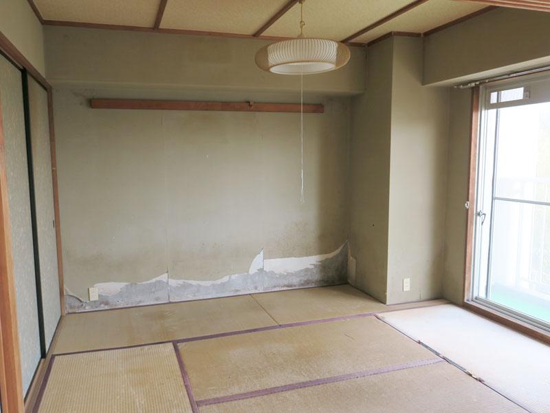 北東側和室6畳