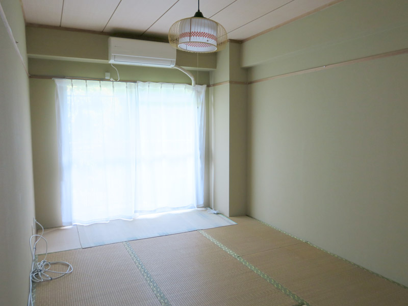 西側和室6畳