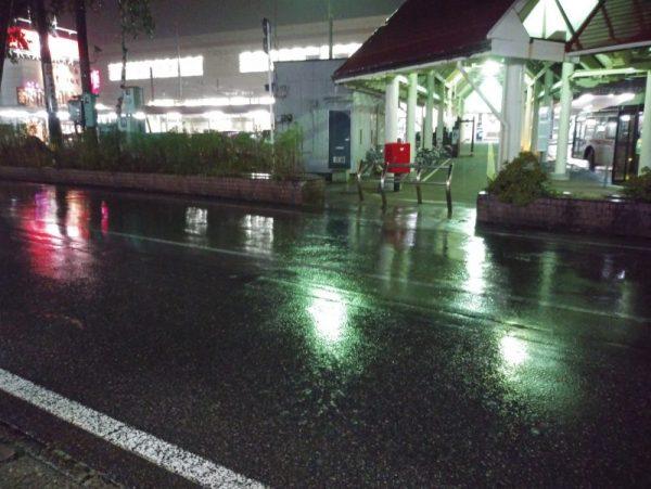 湯沢・台風