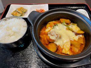 チーズタッカルビ定食