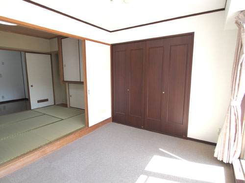 明るい洋室6.1畳
