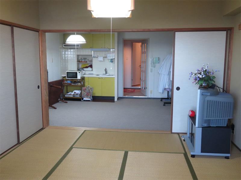 和室よりLDK キッチン