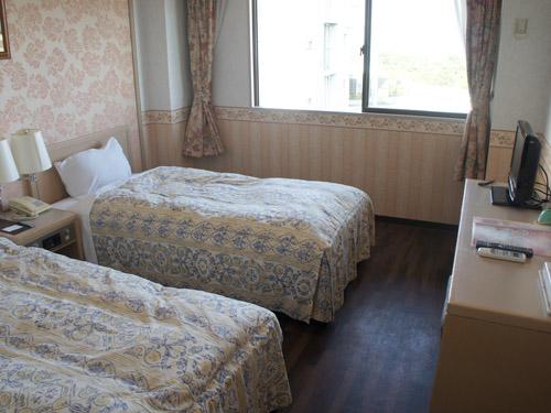 ホテル風の洋室