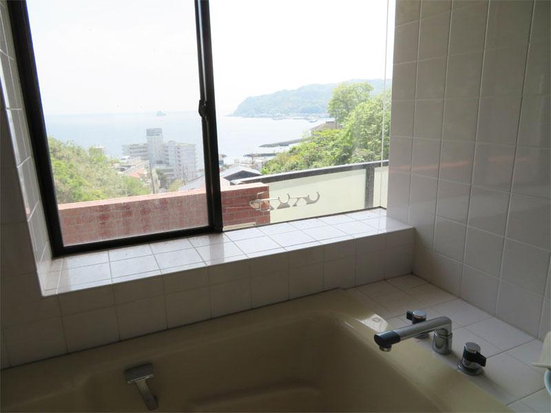 浴室からも海眺望
