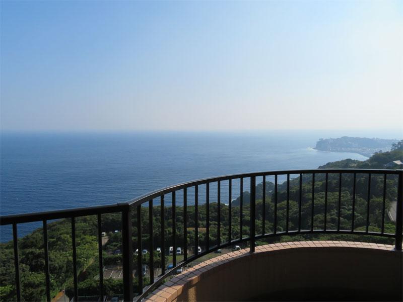 バルコニーからの海眺望