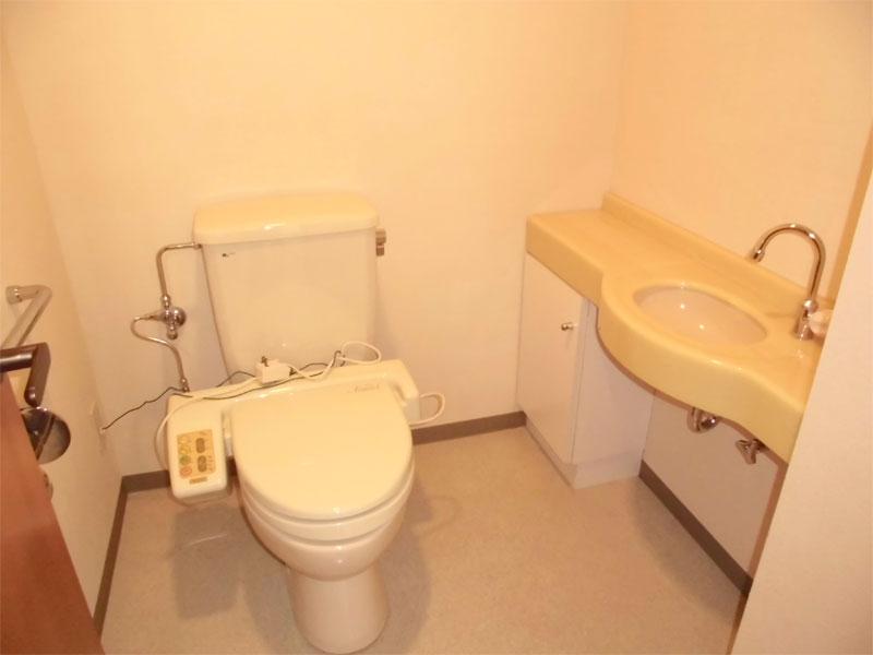 洗面付きトイレ