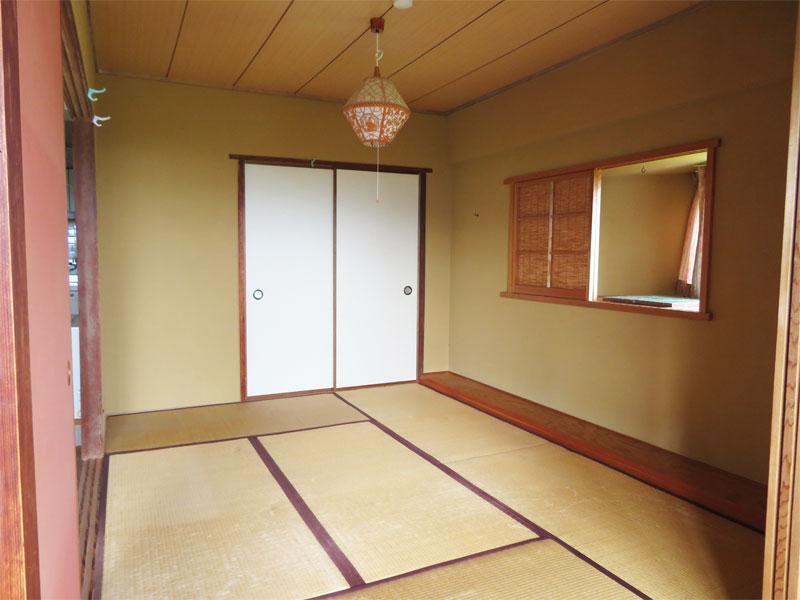 和室 窓付きです