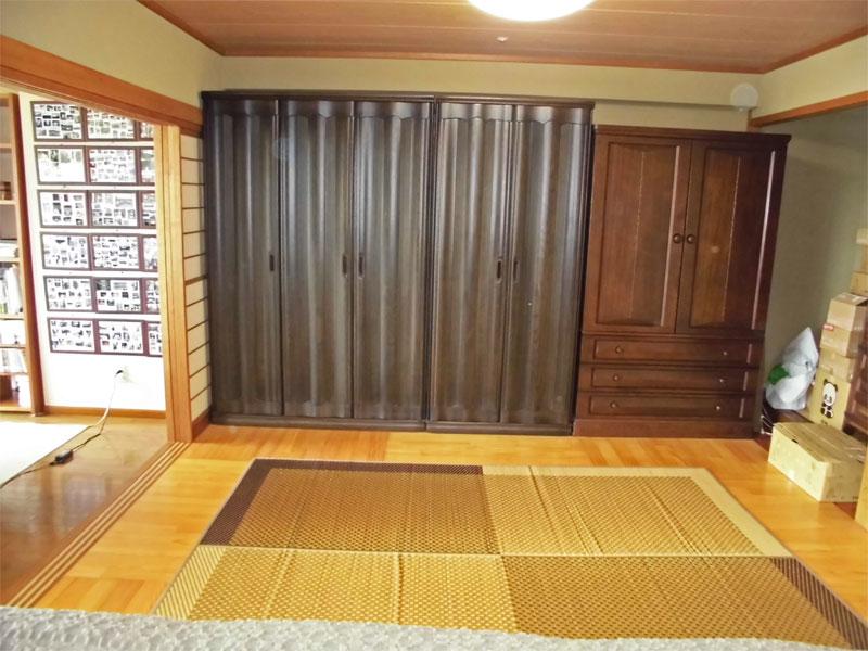 和室を洋室に変更しています