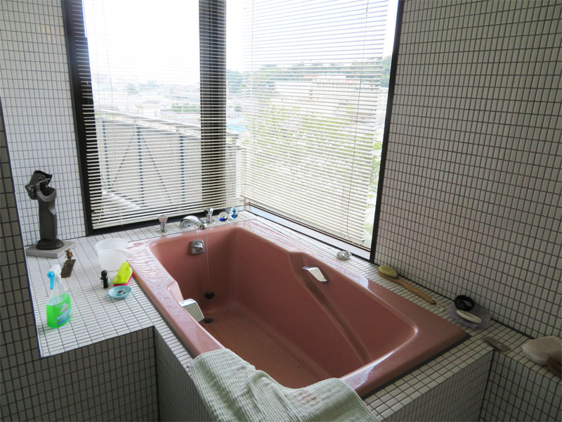 浴室 窓付き