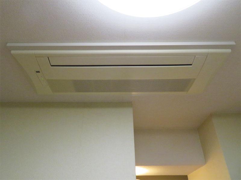 ビルドイン式エアコン