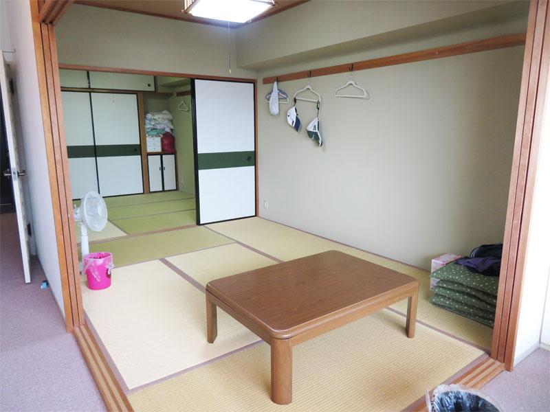 和室 続き間になっています