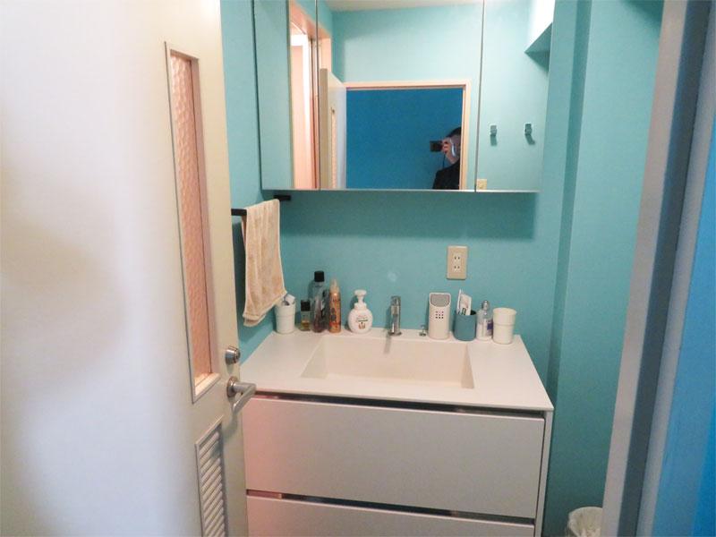 綺麗な洗面室