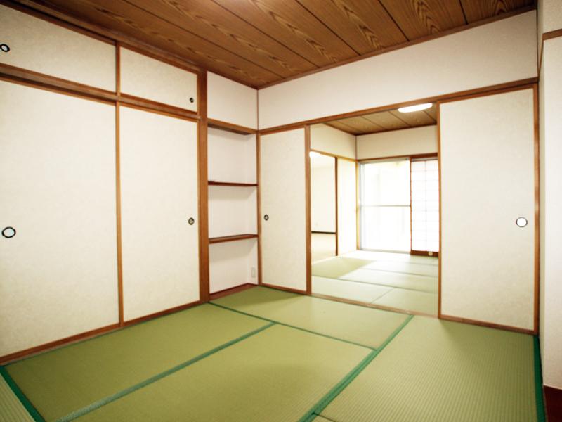 6畳の和室は押入付き