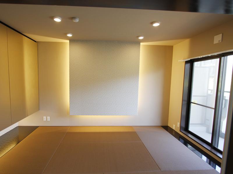 間接照明付き和室