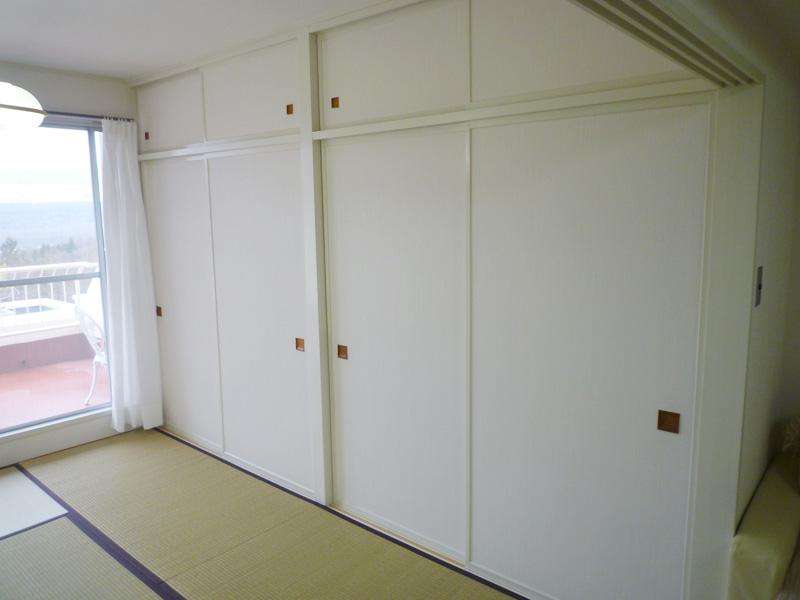 和室 収納部分