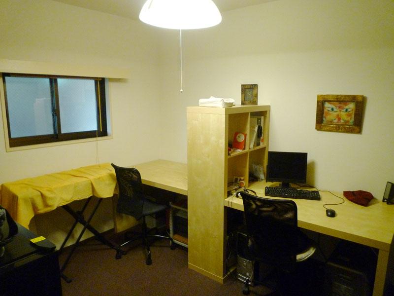 約5.5畳のサービスルーム