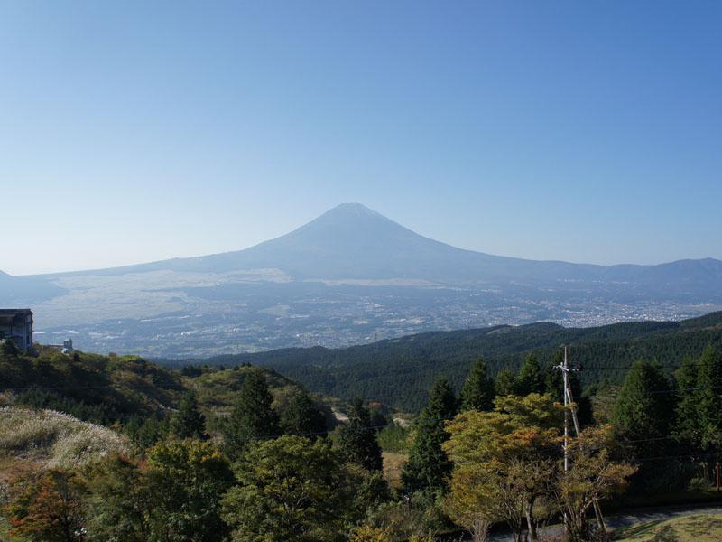 お部屋からの眺望 富士山を一望できます