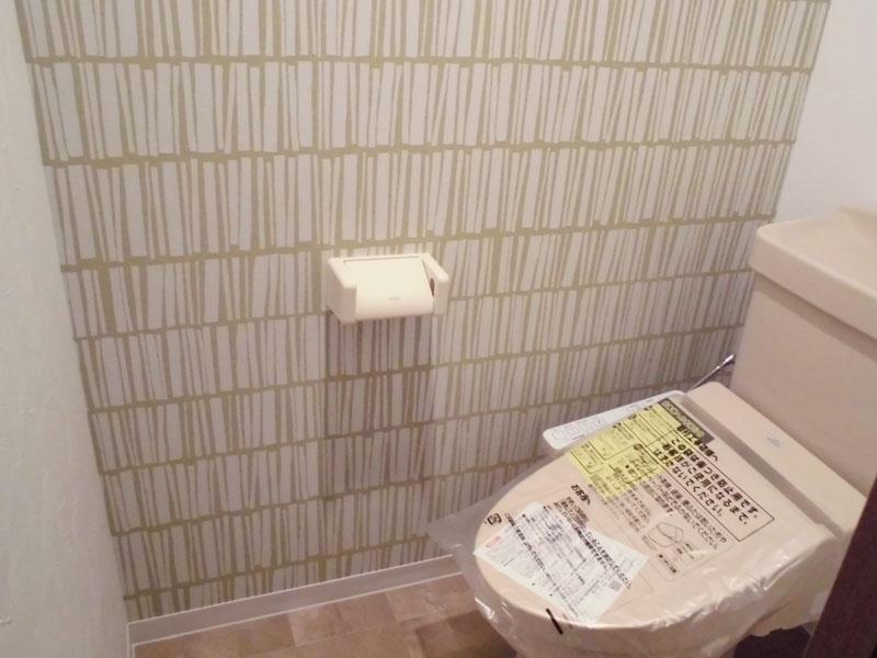 トイレ 洗浄便座交換済み