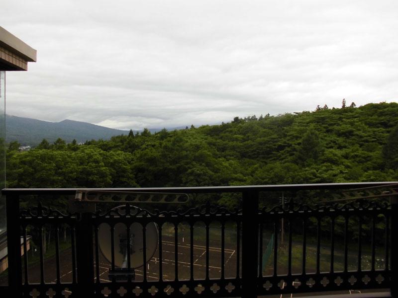 晴れると富士山を望みます