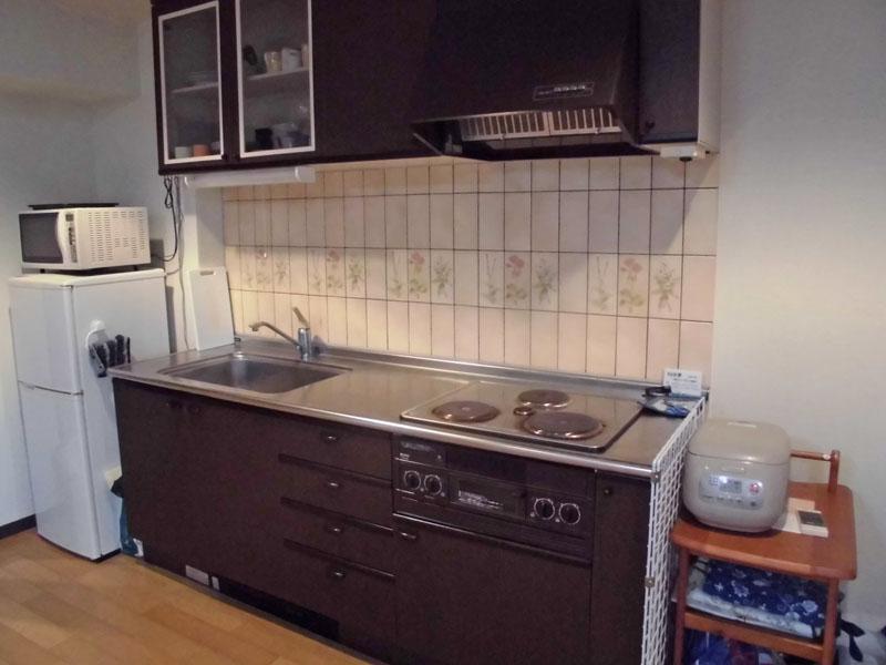 キッチン 3口コンロ