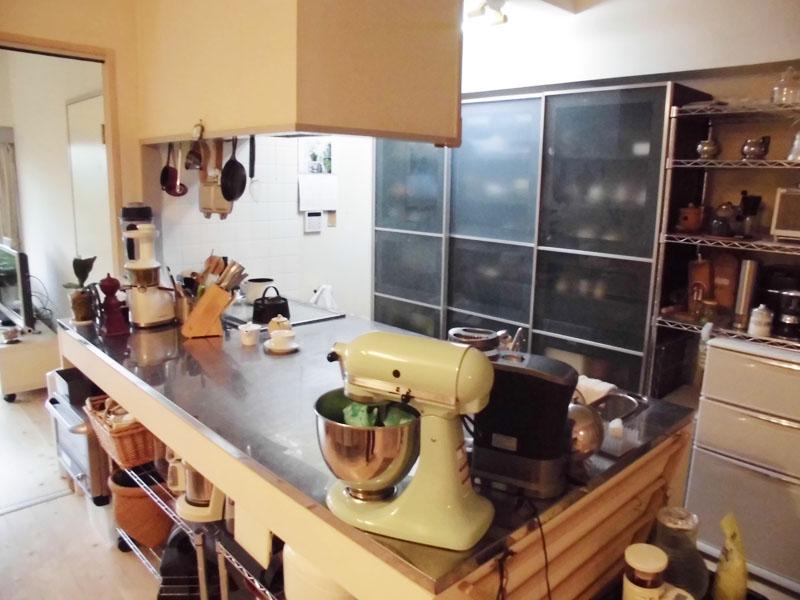 収納もたっぷり 作業しやすいキッチン