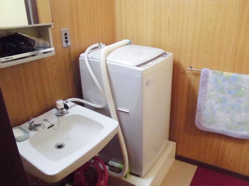 洗面・洗濯機置き場