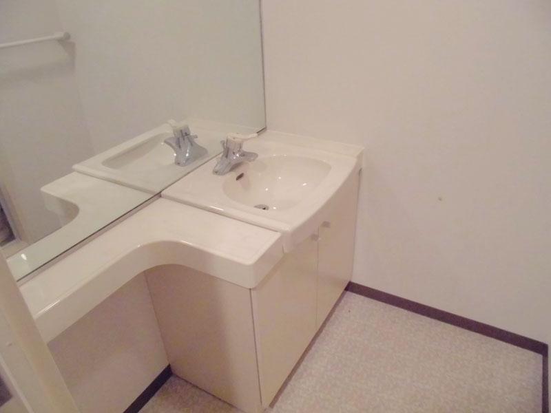 独立した洗面室