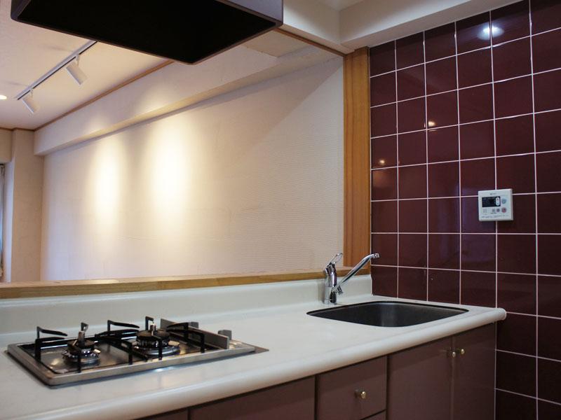 対面式のキッチン