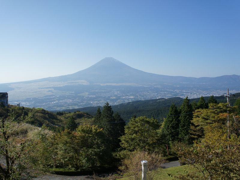 お部屋からの眺望 富士山を一望