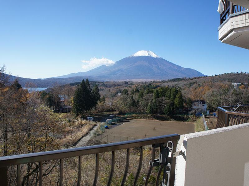 お部屋からの眺望 富士山を望みます
