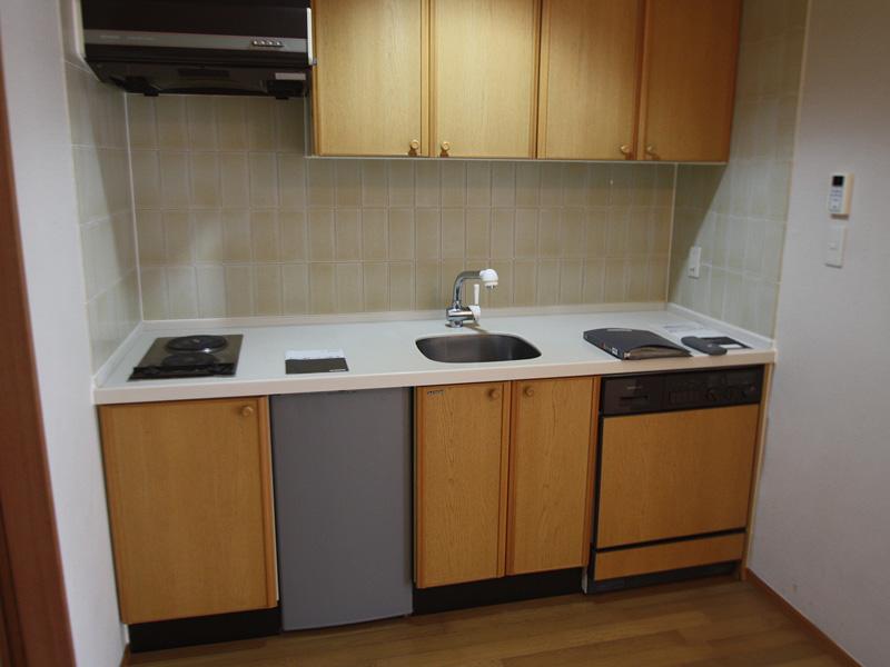 ミニ冷蔵庫付キッチン