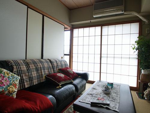 日当たりの良い和室