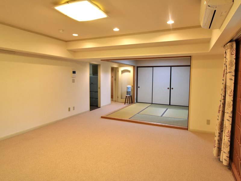 床の間付きの和室