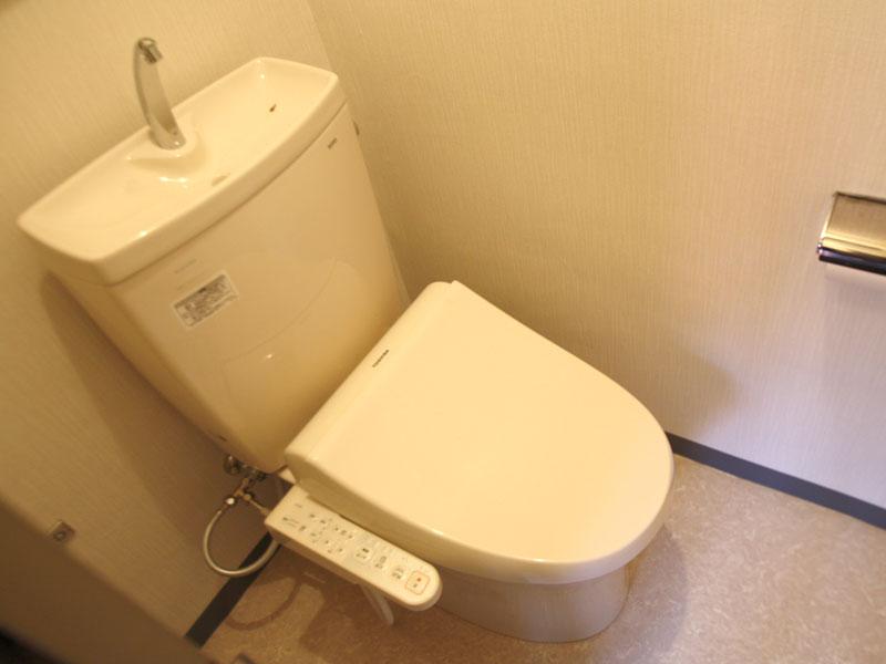 トイレは交換済み