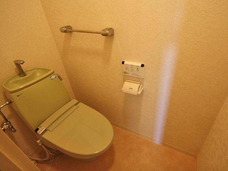 WC付きトイレ