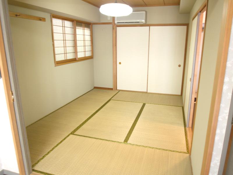 窓ありの和室