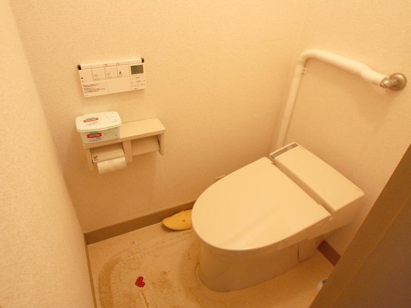 トイレも交換済み