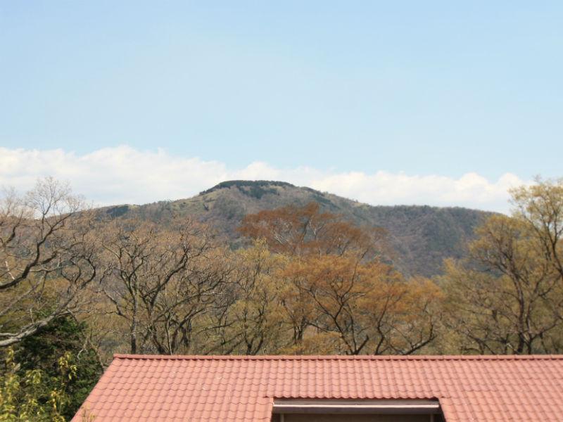 バルコニーからの眺望(大文字焼きが見えます)