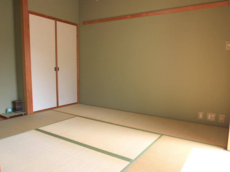 床の間&収納付き和室