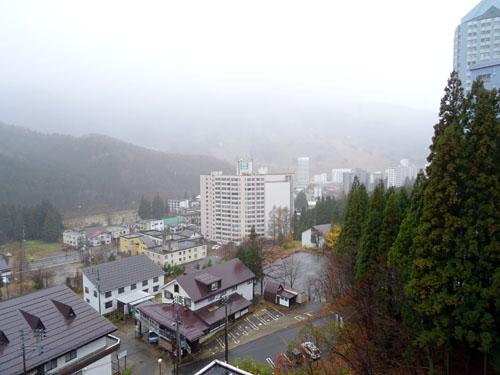 お部屋からの眺望(左向)