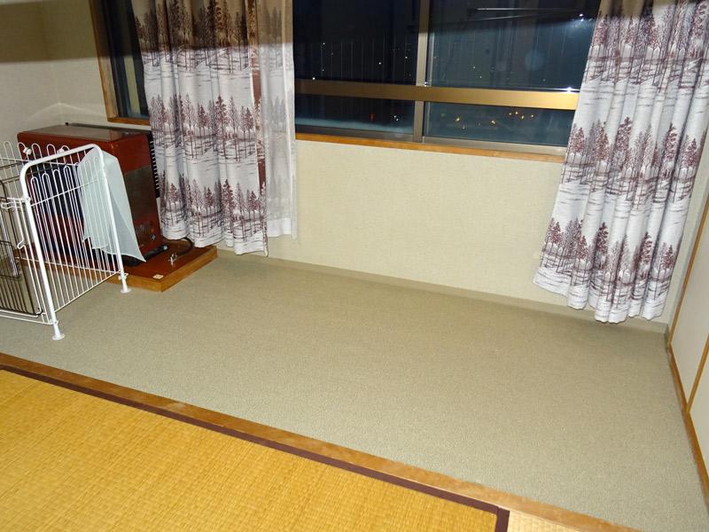 和室奥のスペース