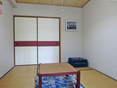 和室(窓側から撮影)