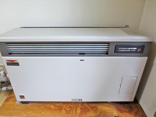 FF方式温風ガス暖房機