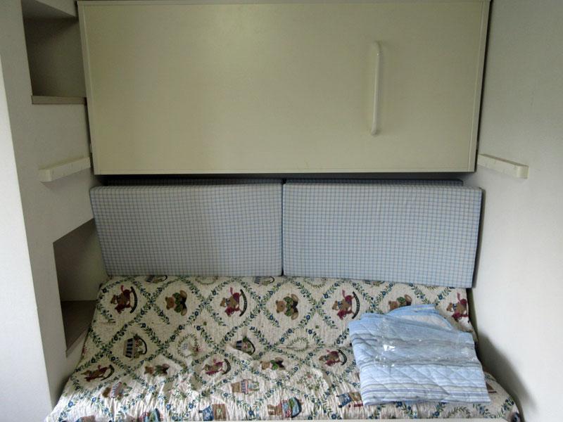 折畳式二段ベット